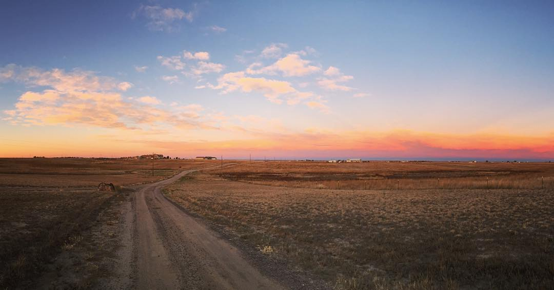 2016 Mantra - Sunrise over Colorado
