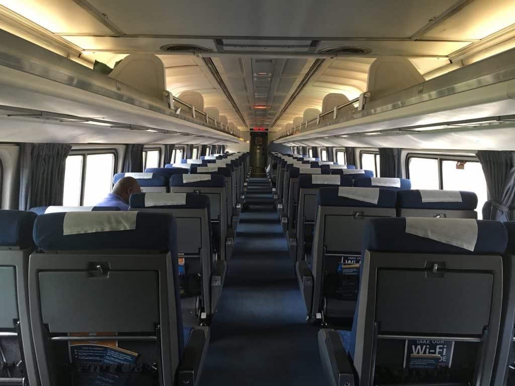 Amtrak Crescent Train Car