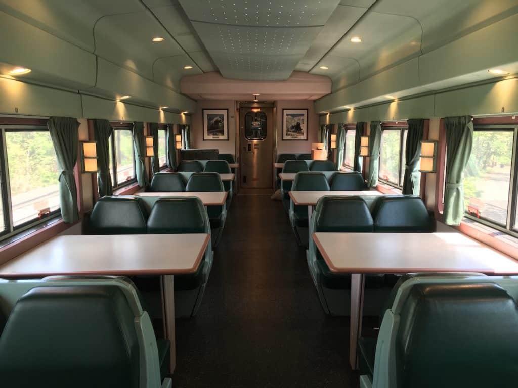 Amtrak Crescent Dining Car
