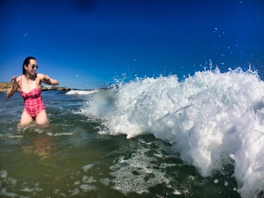 Valerie at Montauk Beach
