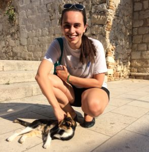I'm a cat lover – it was hard to resist petting and playing with the cats in Dubrovnik!
