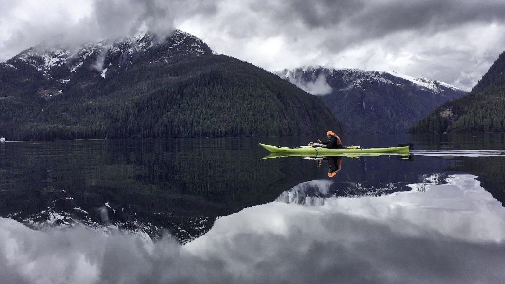 UnCruise Adventures Kayaking in Misty Fjords