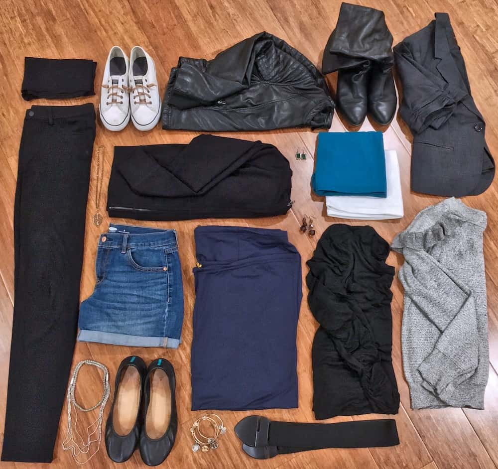 Versalette Packing List