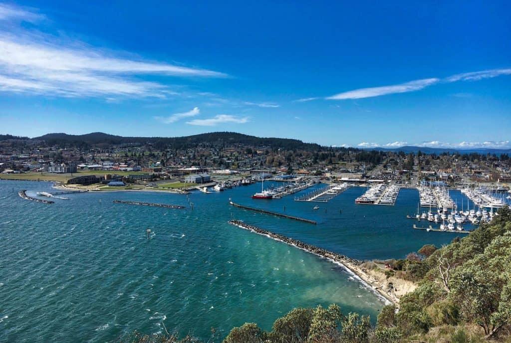 Anacortes Travel Guide - Anacortes from Cap Sante