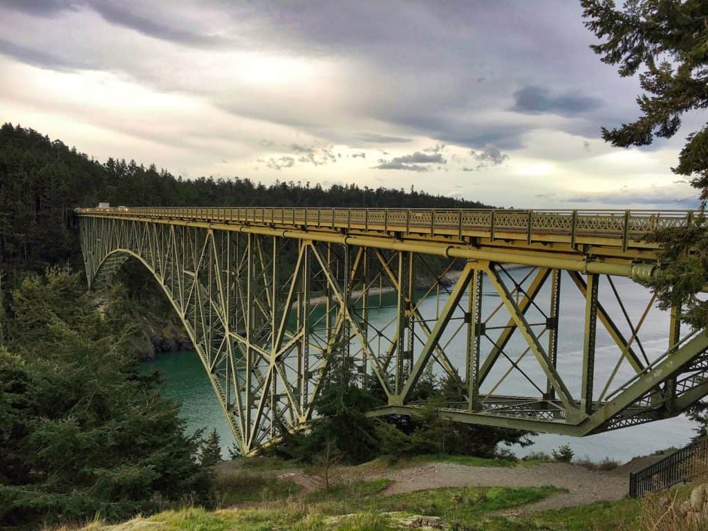 Anacortes Travel Guide - Deception Pass Bridge
