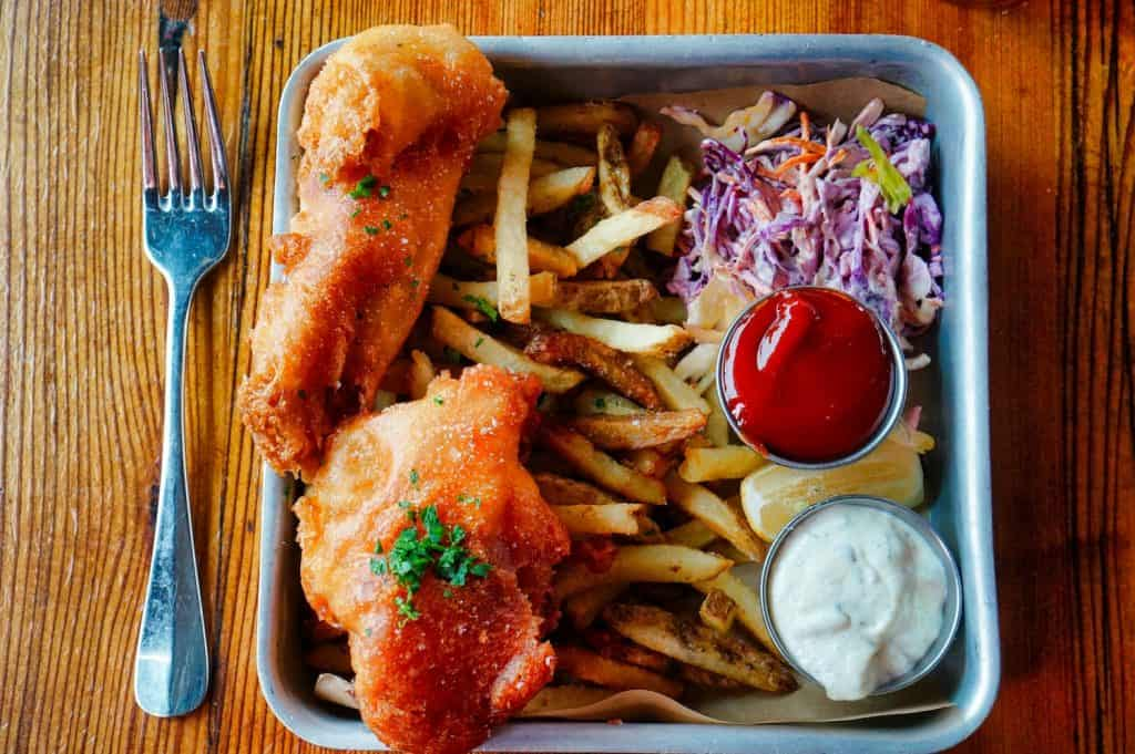 2018 Recap - October - Fish & Chips