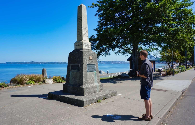 3 Days in Seattle - Alki Beach