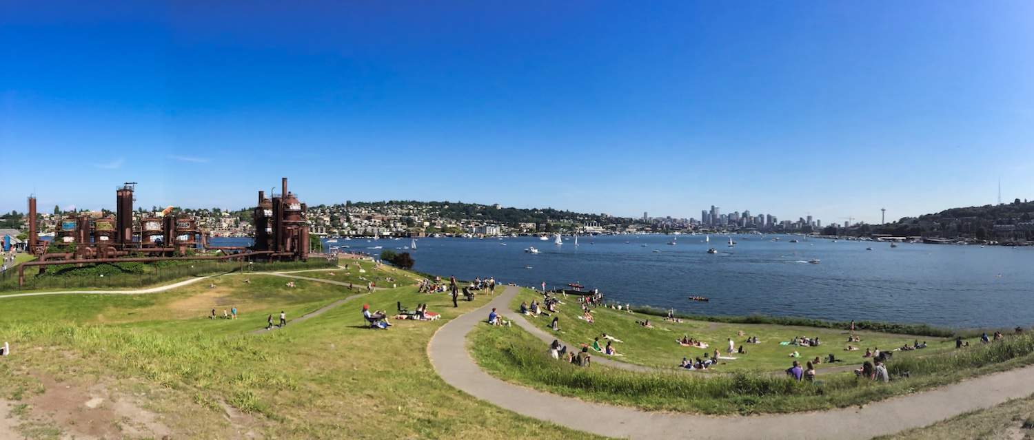 3 Days in Seattle - Gas Works Park
