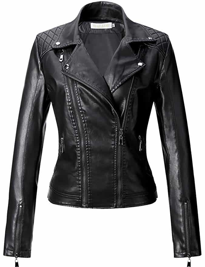 What to Pack for Seattle - Leather Jacket