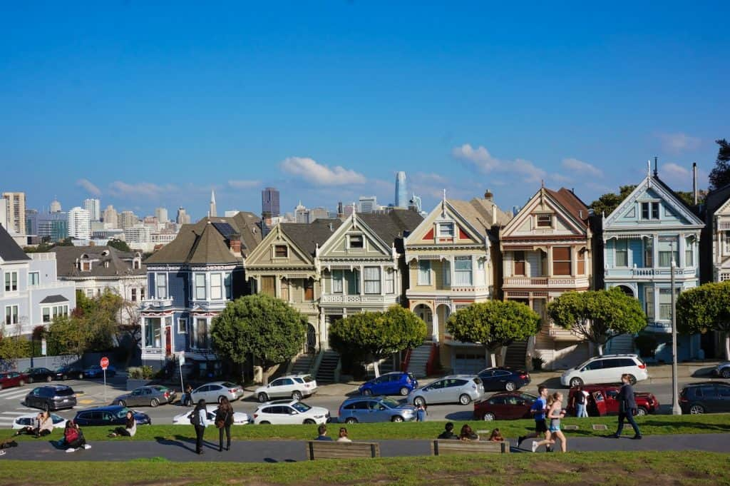 3 Days in San Francisco - Alamo Square