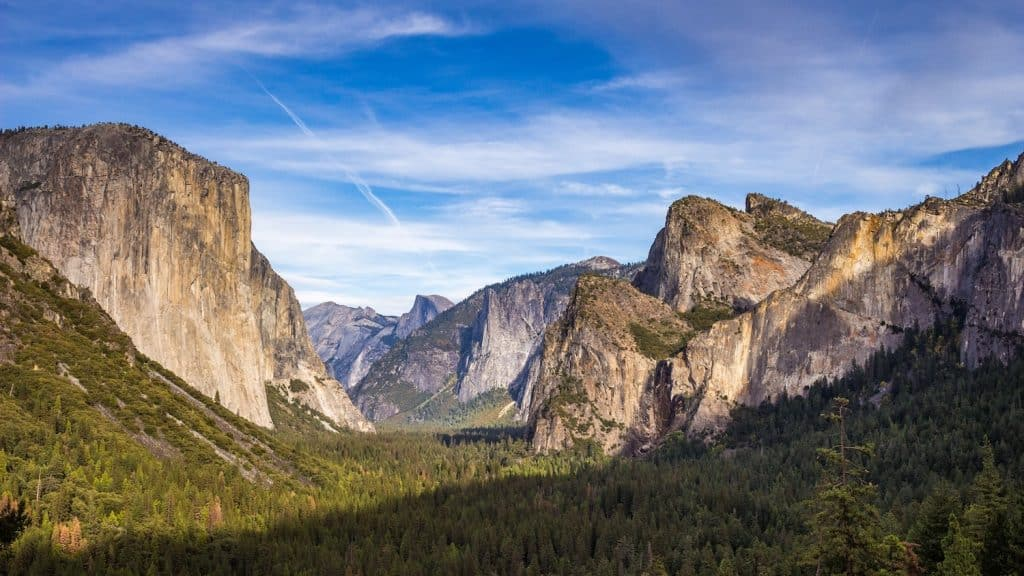 3 Days in Yosemite - Tunnel View