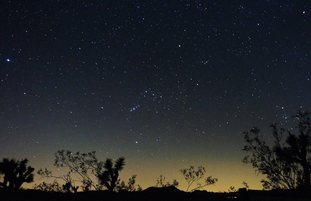 Joshua Tree Weekend Itinerary - Stargazing
