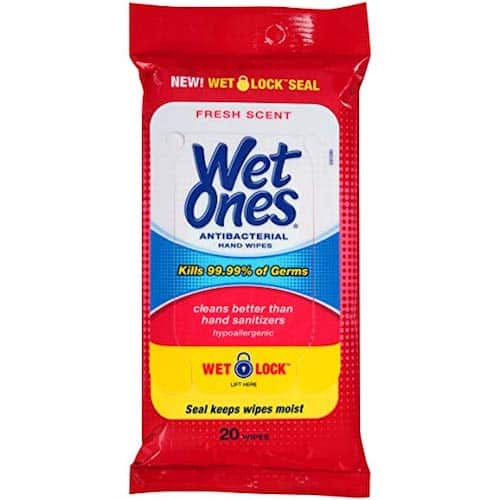 Road Trip Essentials: Wet Wipes