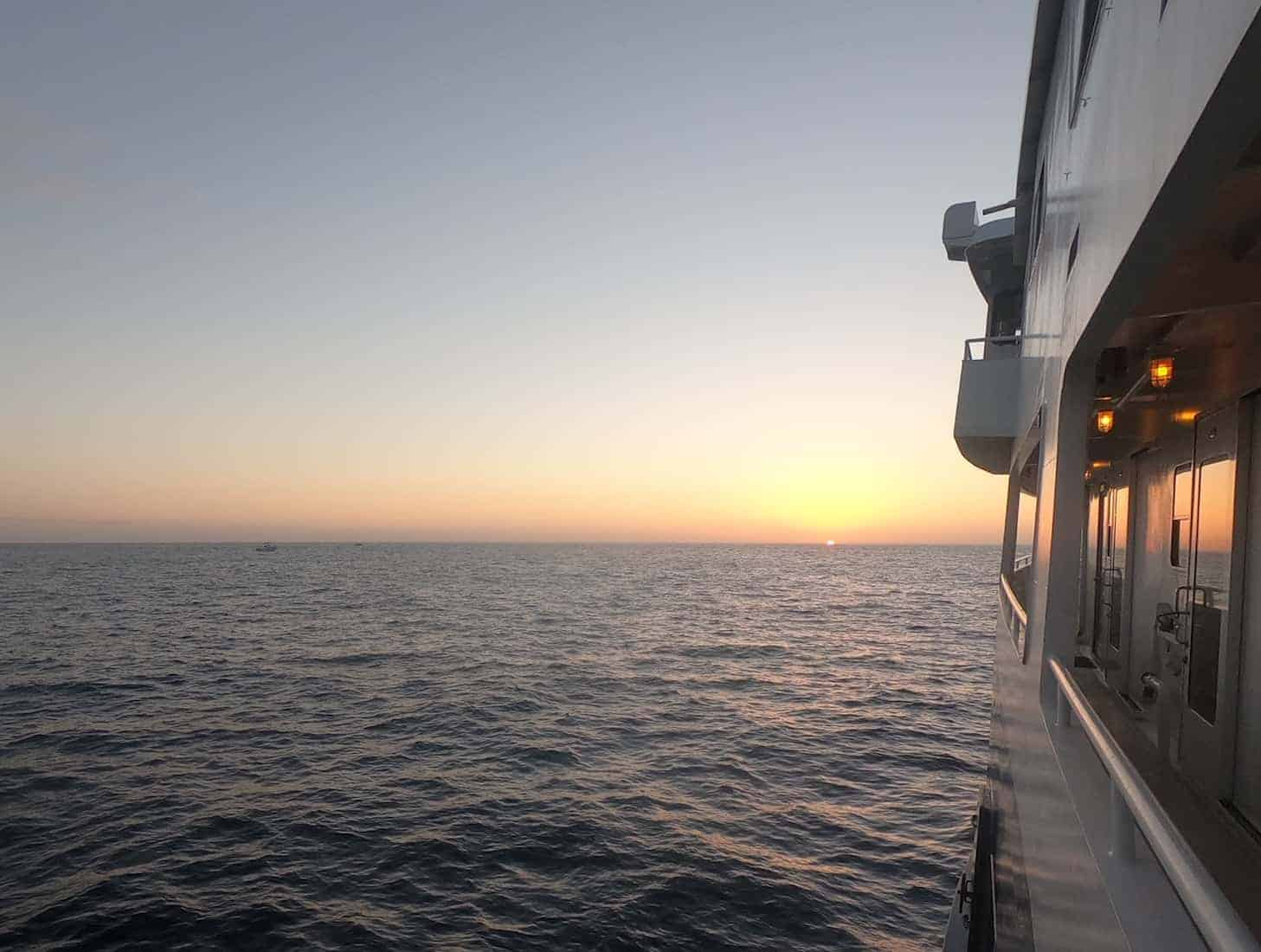 UnCruise Hawaii - Safari Explorer at Sunset