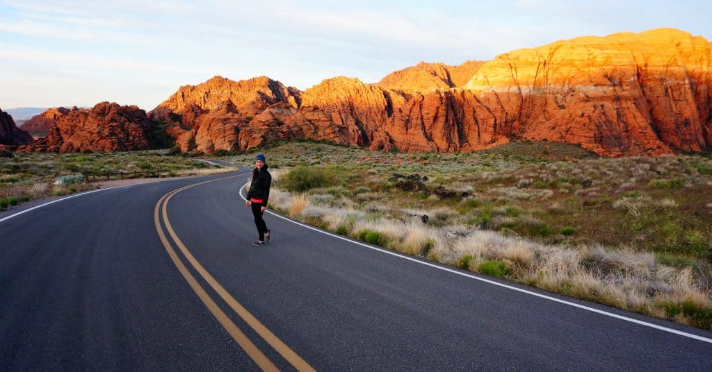 St. George Featured - Valerie in Snow Canyon