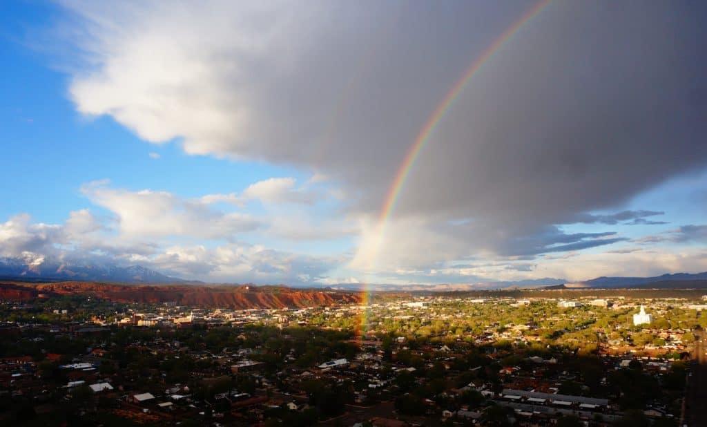 St. George - Rainbow