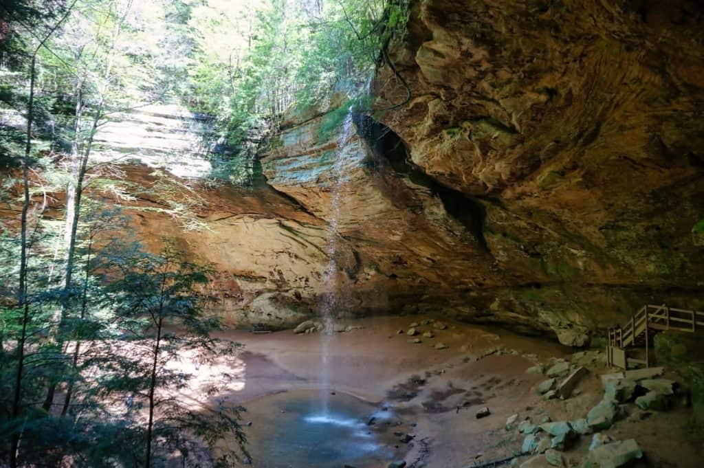 Things to do in the Hocking Hills - Ash Falls