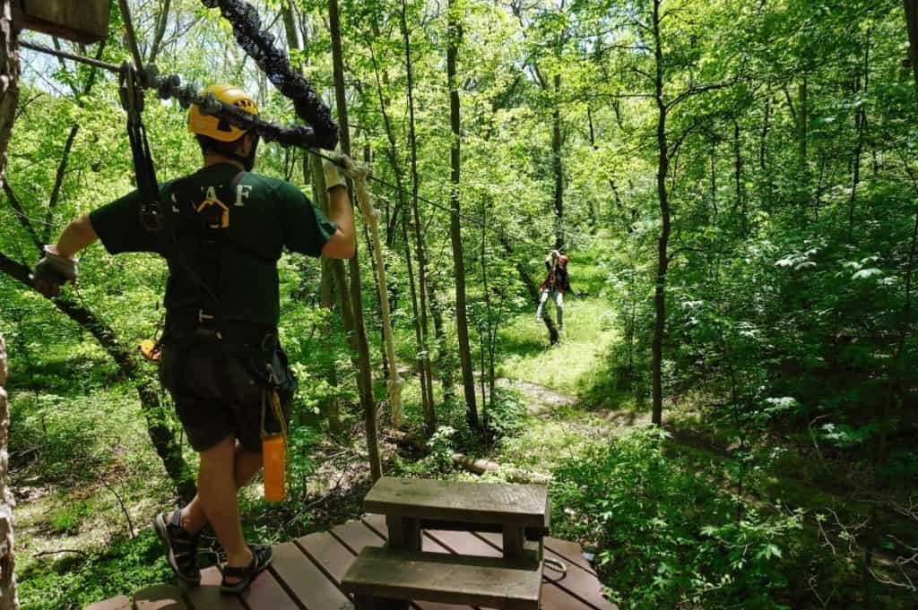 Things to do in the Hocking Hills - Zip Lining
