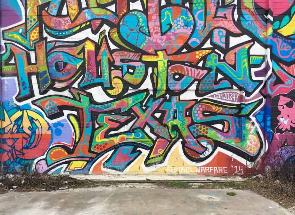 3 Days in Houston - Street Art
