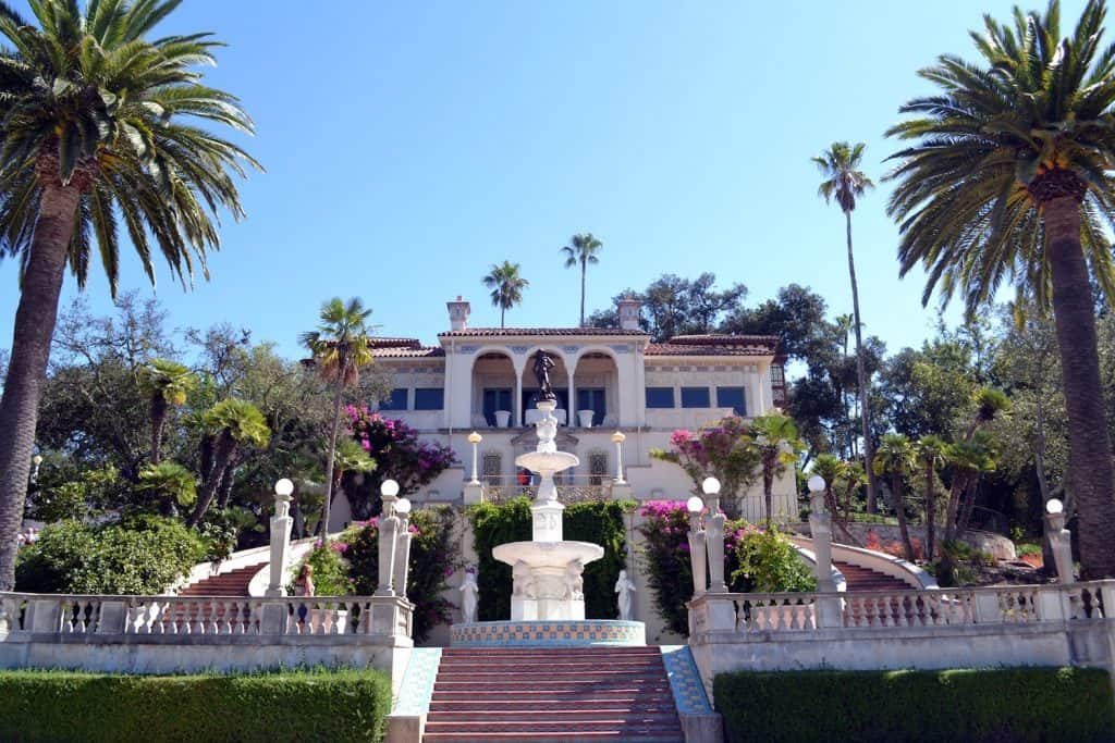 California Coast Road Trip - Hearst Castle