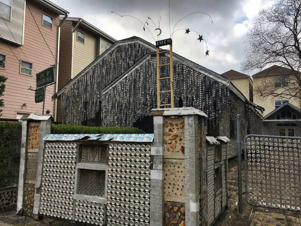 What to Do in Houston: Beer Can House