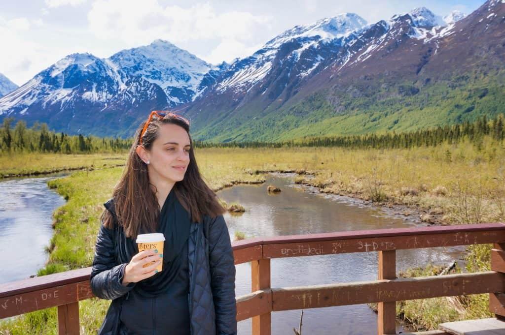 Valerie in Alaska