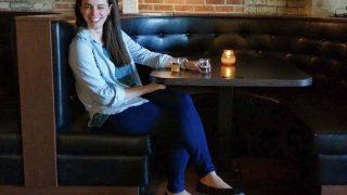 Valerie wearing Tieks in Ohio