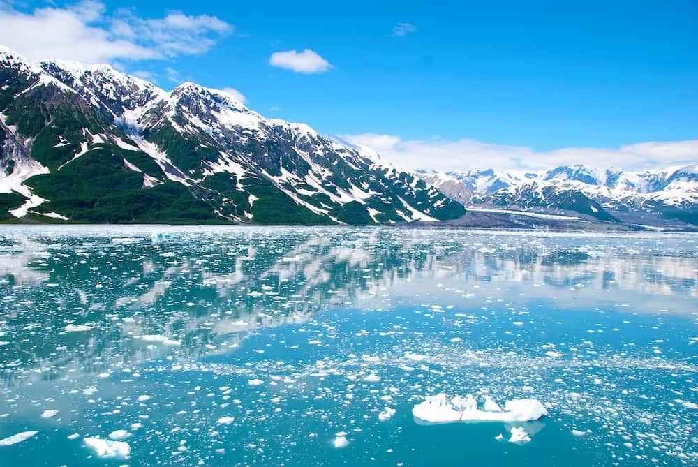 Alaska in Winter - Icebergs