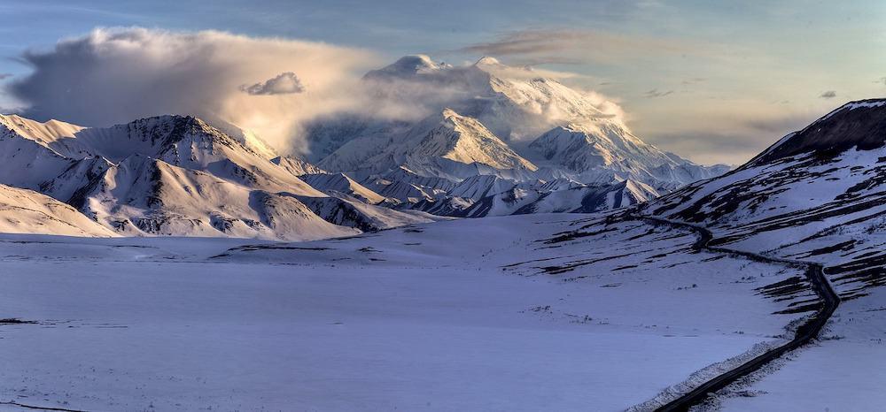 Alaska in Winter - Denali