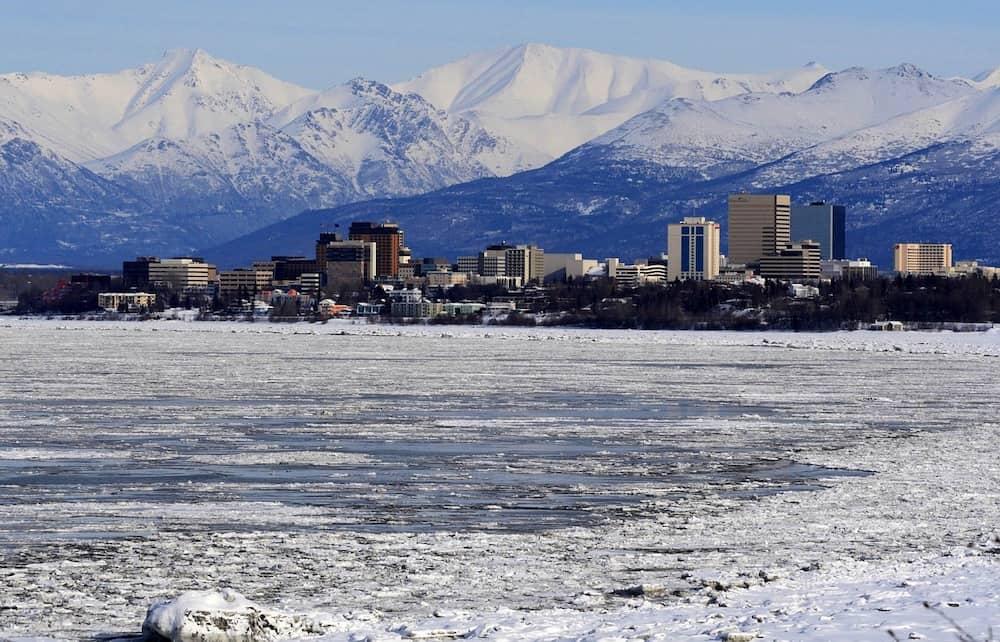 Alaska in Winter - Anchorage
