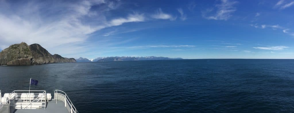 Cruising in Kenai Fjords National Park