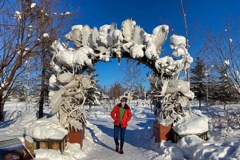 Fairbanks in the Winter Hero