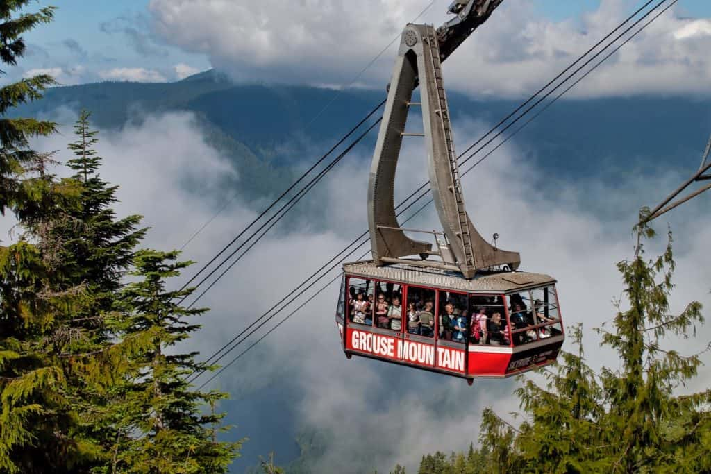 Vancouver Cruise Excursions - Grouse Mountain
