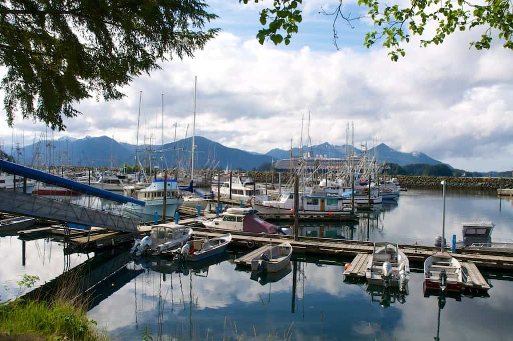Sitka Waterfront - joenevill via Flickr
