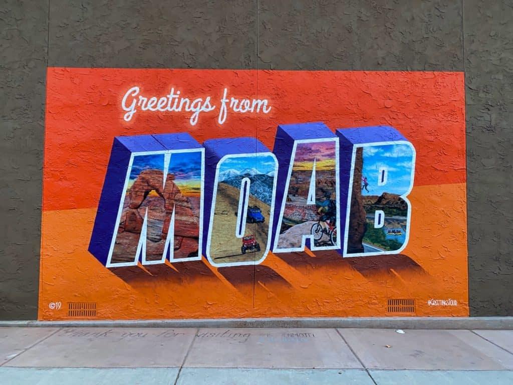 Moab - Sign