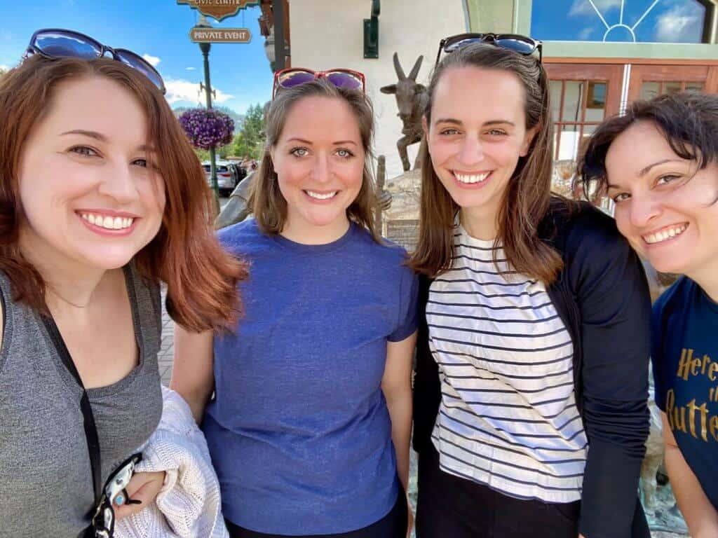 Leavenworth Bachelorette Party - Group