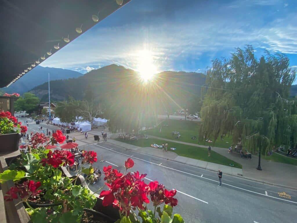 Leavenworth View