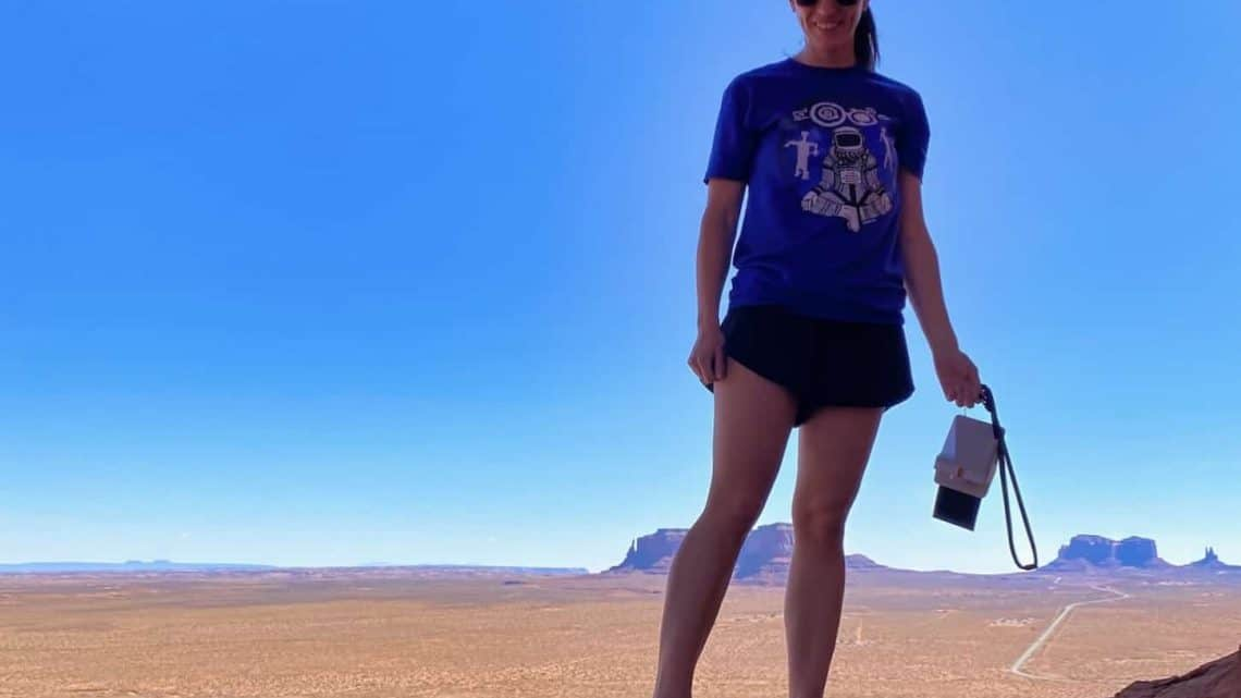 Polaroid Now Review - Shooting in Monument Valley