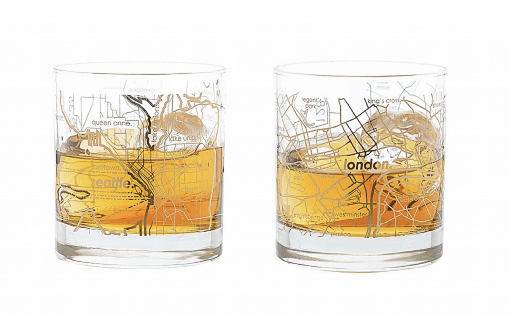 2020 Travelers Gift Guide - Travel-Inspired Gifts - Seattle & London Glasses