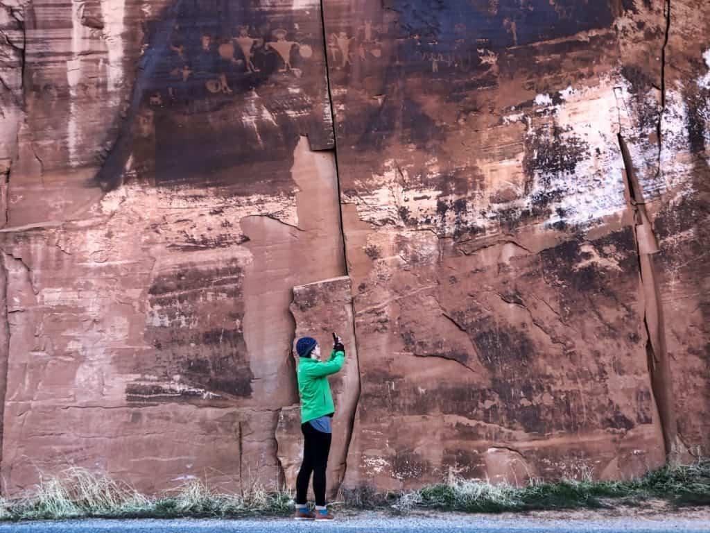 3 Days in Moabs - Petroglyphs