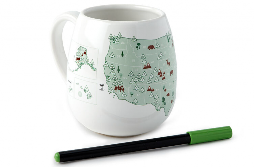National Park Gifts - Color Mug