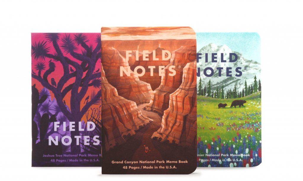 National Parks Gifts - Field Notes