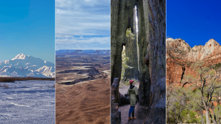 National Parks in the West Hero