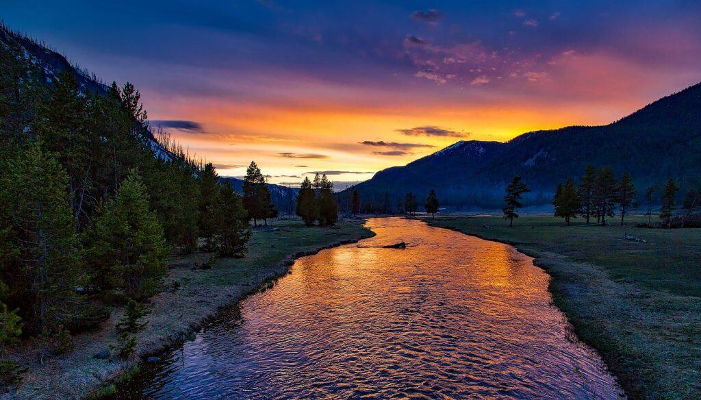 National Parks in the West - Wyoming