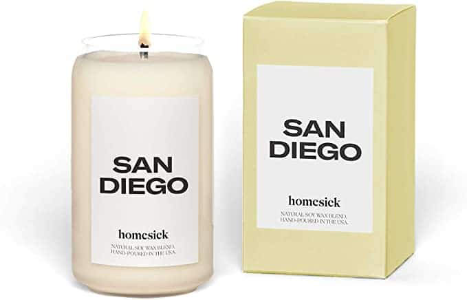 Homesick Candles Review - San Diego Candle