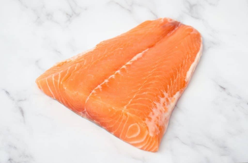 Alaskan Sushi Grade Salmon