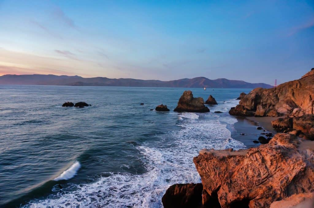 Pacific Coast Highway - San Francisco - View from Lands End