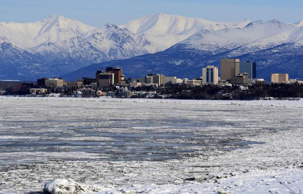 Anchorage Facts - Snowy Skyline