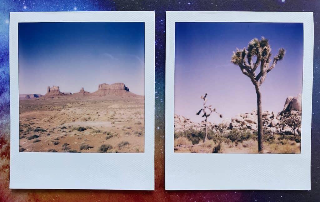 Fujifilm vs Polaroid - Different Photos from Polaroid Now