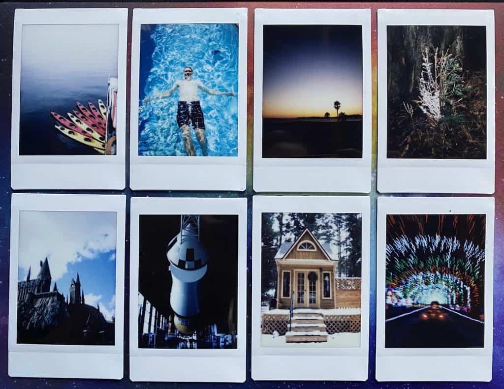 Fujifilm vs Polaroid - Different Photos from Fujifilm InstaX Mini 90